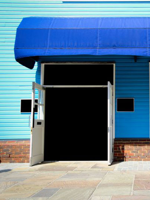 exterior paint bright colored building Windermere